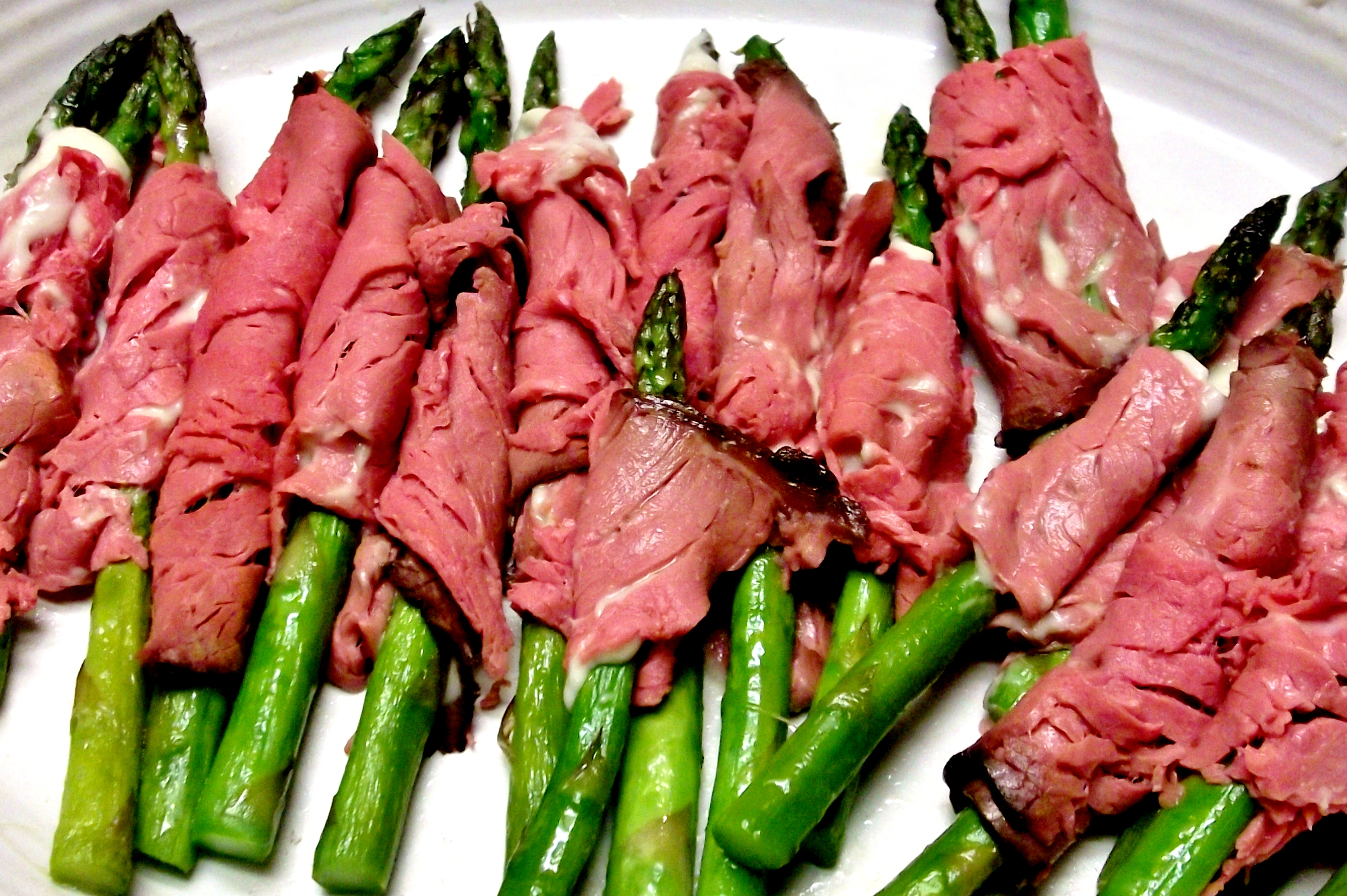 Beef Wrapped Christmas Trees