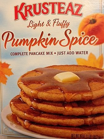Krusteaz Light & Fluffy Pumpkin Spice Pancake Mix