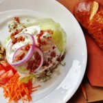 Bev's Wedge Salad with Blue cheese in Sioux City, Iowa