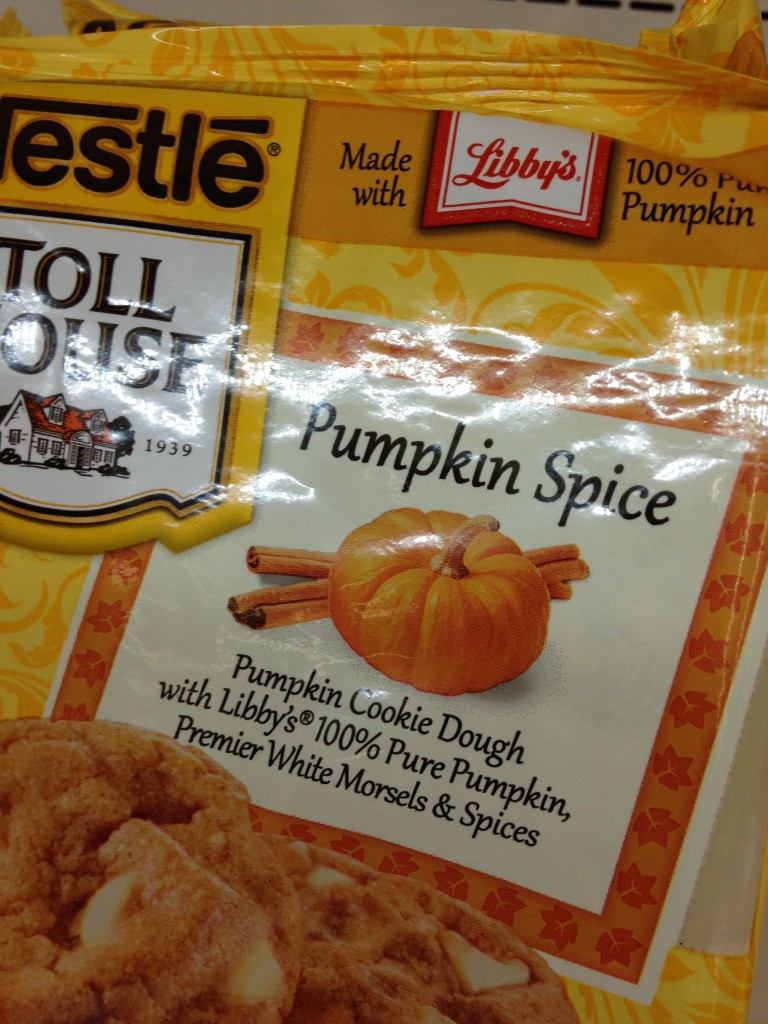 Pumpkin Spice Cookie Dough from Nestle Toll HOuse