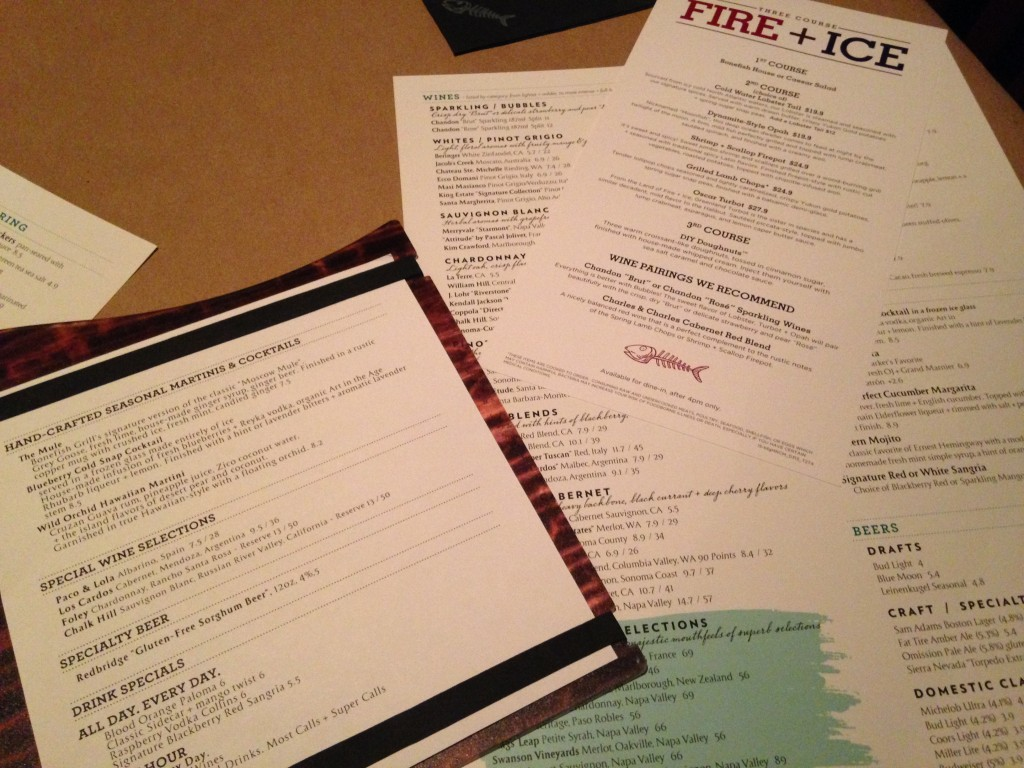 Incredibleis bonefish grill west des moines for Fish and grill menu