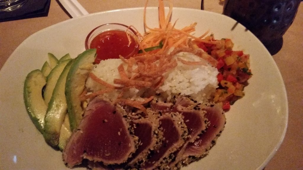 Spicy Tuna Bowl From Bonefish Grille