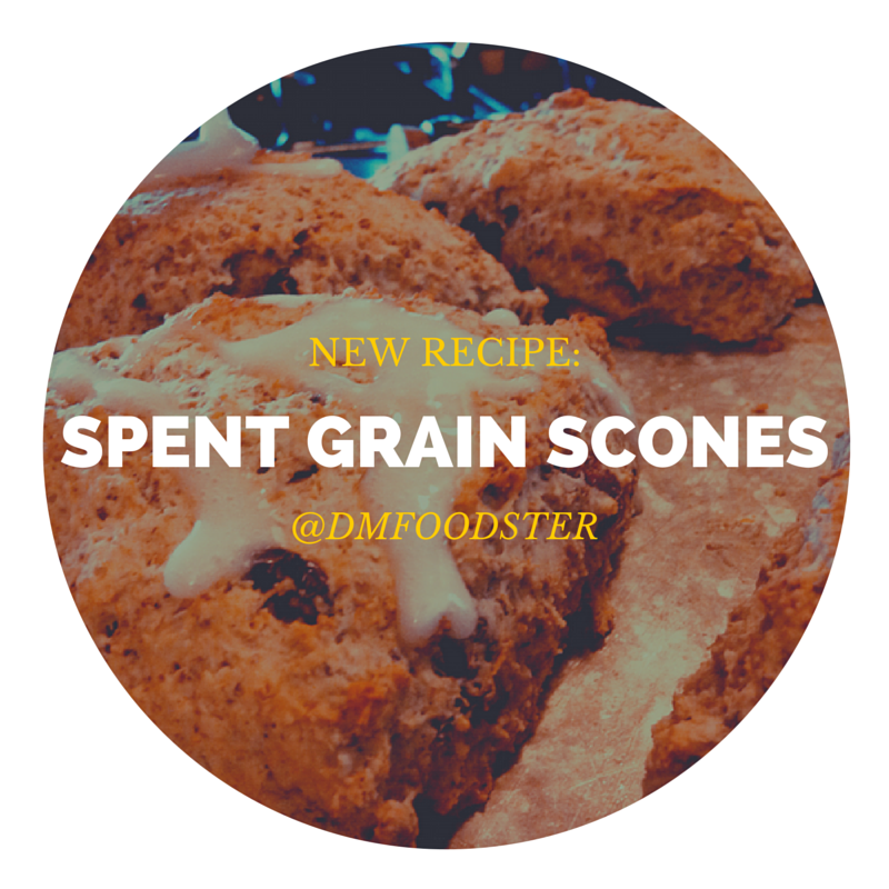 spent grain scones