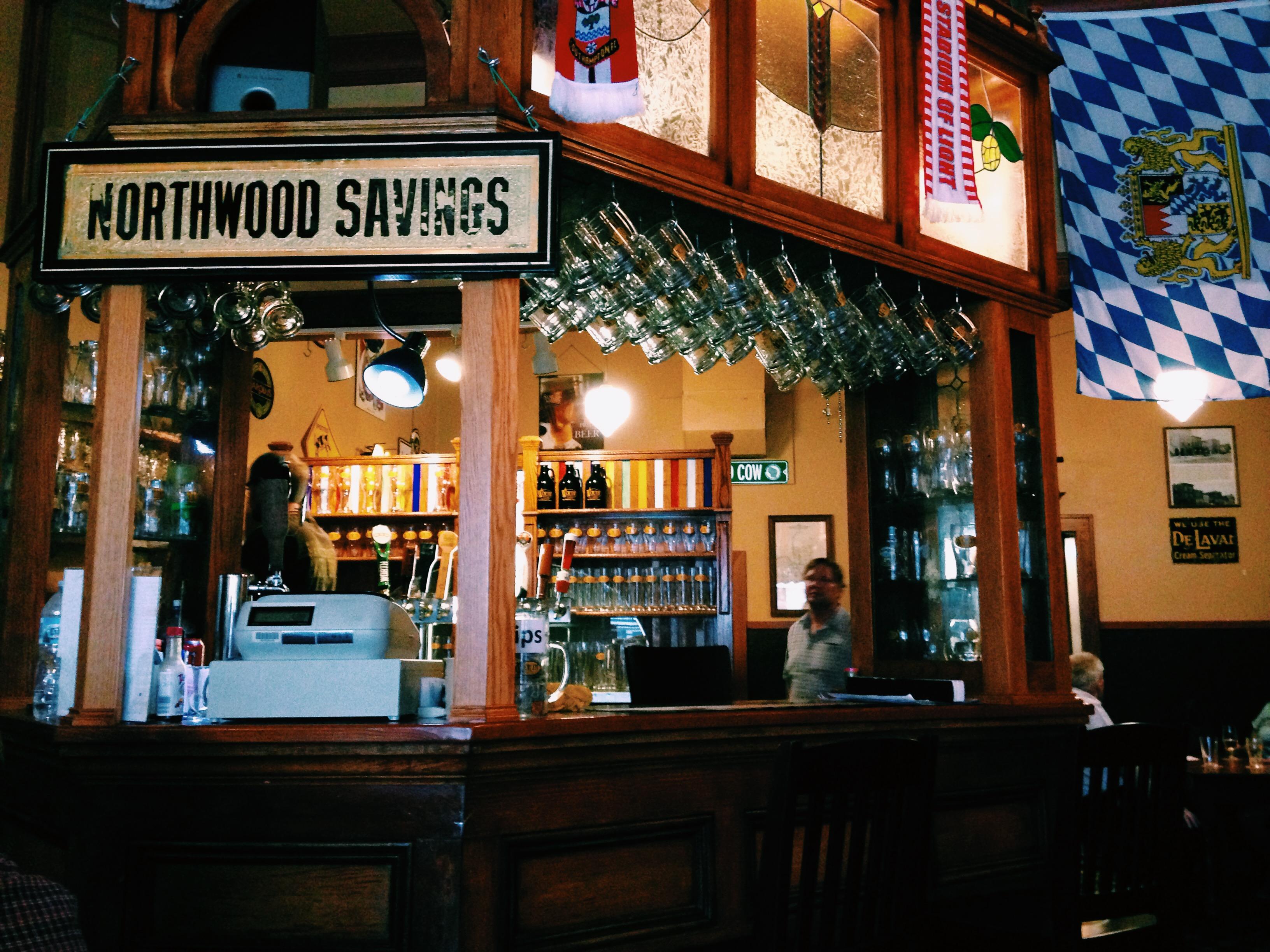 northwood saving - worth brewing bar