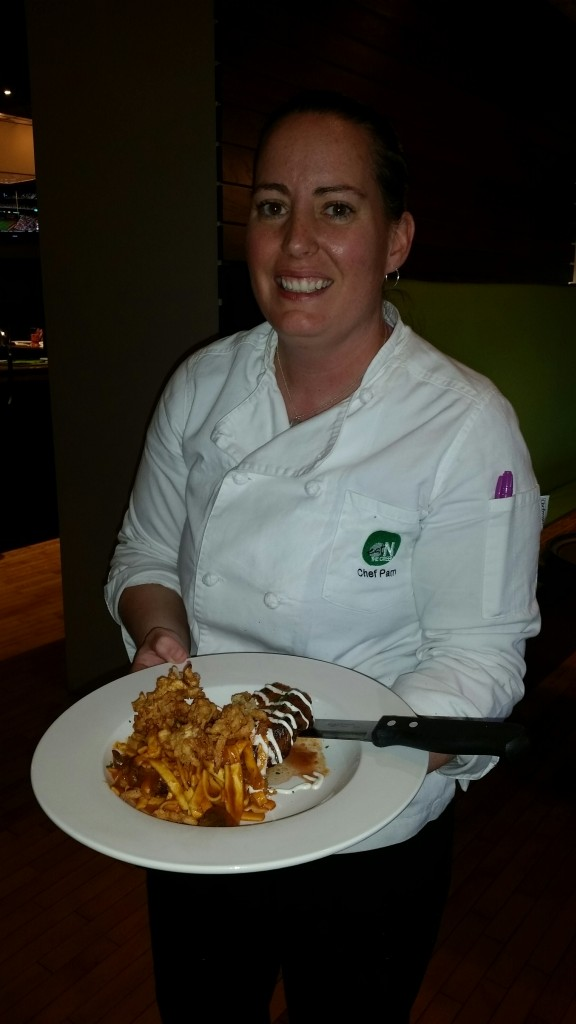 Chef Pam Oldes of On The Green