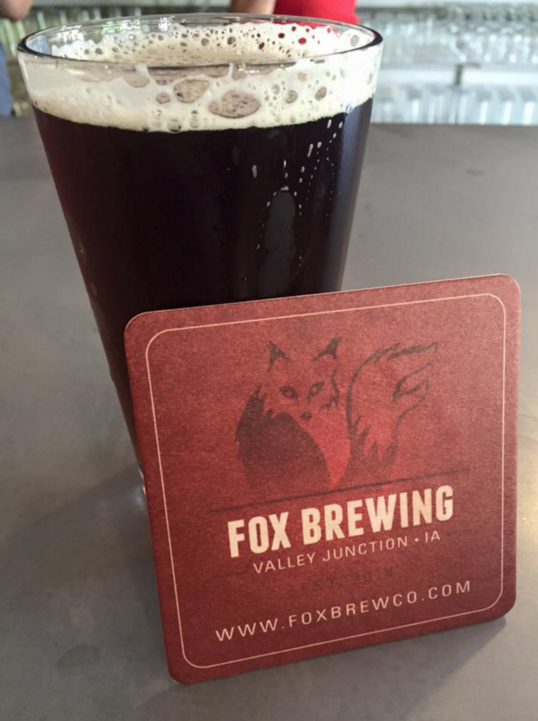 Fox Brewing Pint