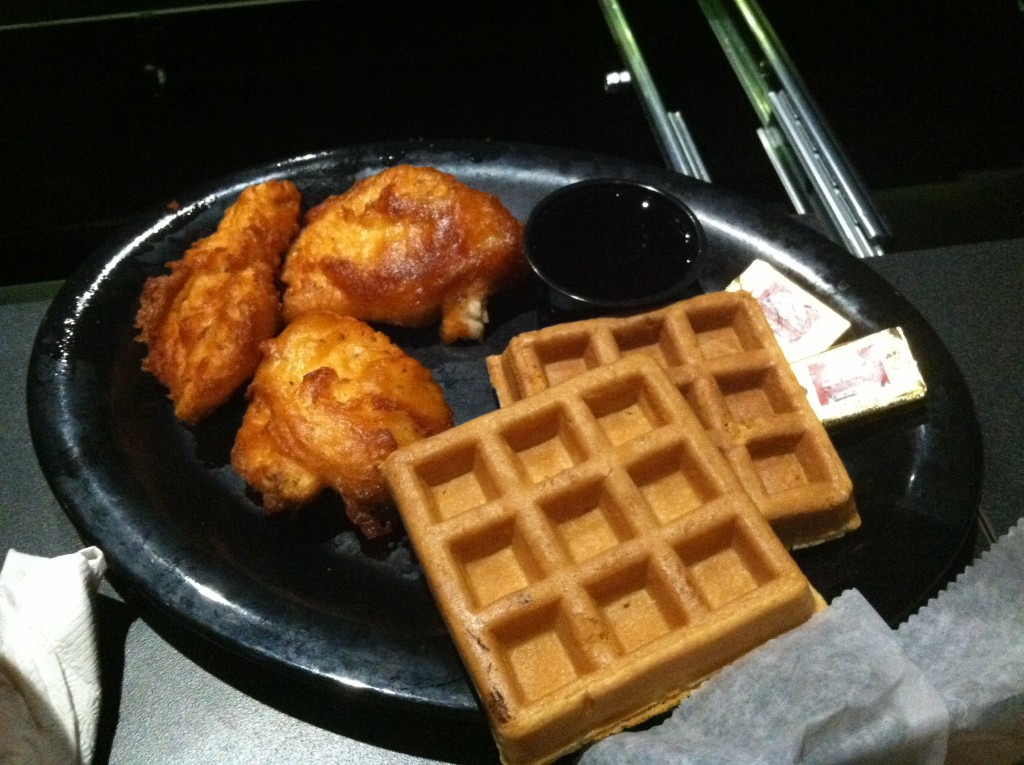 Flix Brewhouse Chicken and Waffles