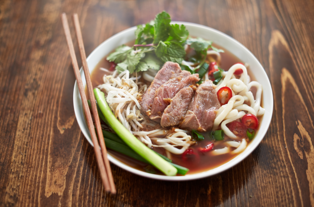 how to cook with pho broth