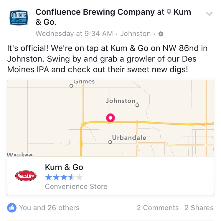 Confluence FB Announcement